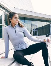 Girlie Cool-Flex 1/2 Zip Top