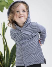 Baby Striped Hooded T