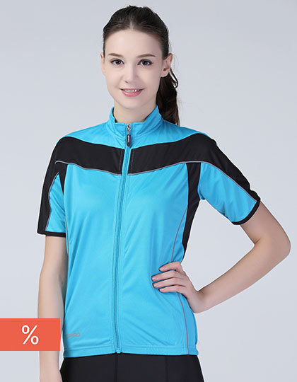 Ladies` Bikewear Full Zip Performance Top